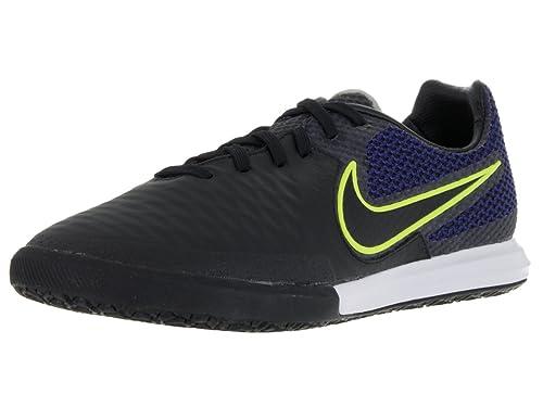 official photos 15a25 e0d10 Nike Magistax Finale IC, Botas de fútbol para Hombre, Negro  Black-Volt-Midnight Navy, 45 1 2 EU  Amazon.es  Zapatos y complementos