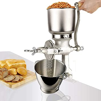Molino de molinillo de grano manual, molinillo ajustable ...