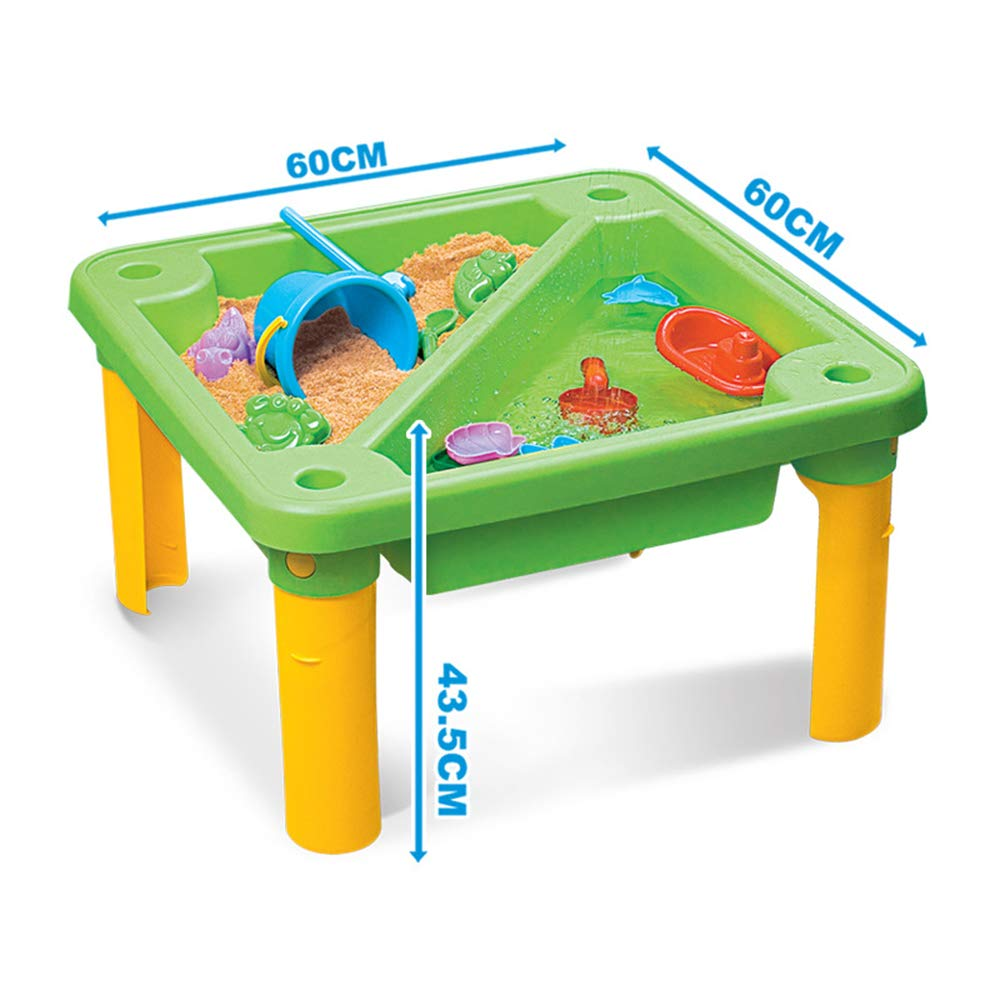 Children's Toy Sand Water Table Set, Beach Table Multiplayer Summer Play Water Kids Amusement Park Toys Seaside Play Holiday Travel by Pandady (Image #4)