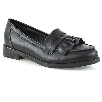 Müßiggänger-Schuh im Schwarzen für Frauen Größe 4 UK/37 EU - Schwarz Lilley SRzmIwg