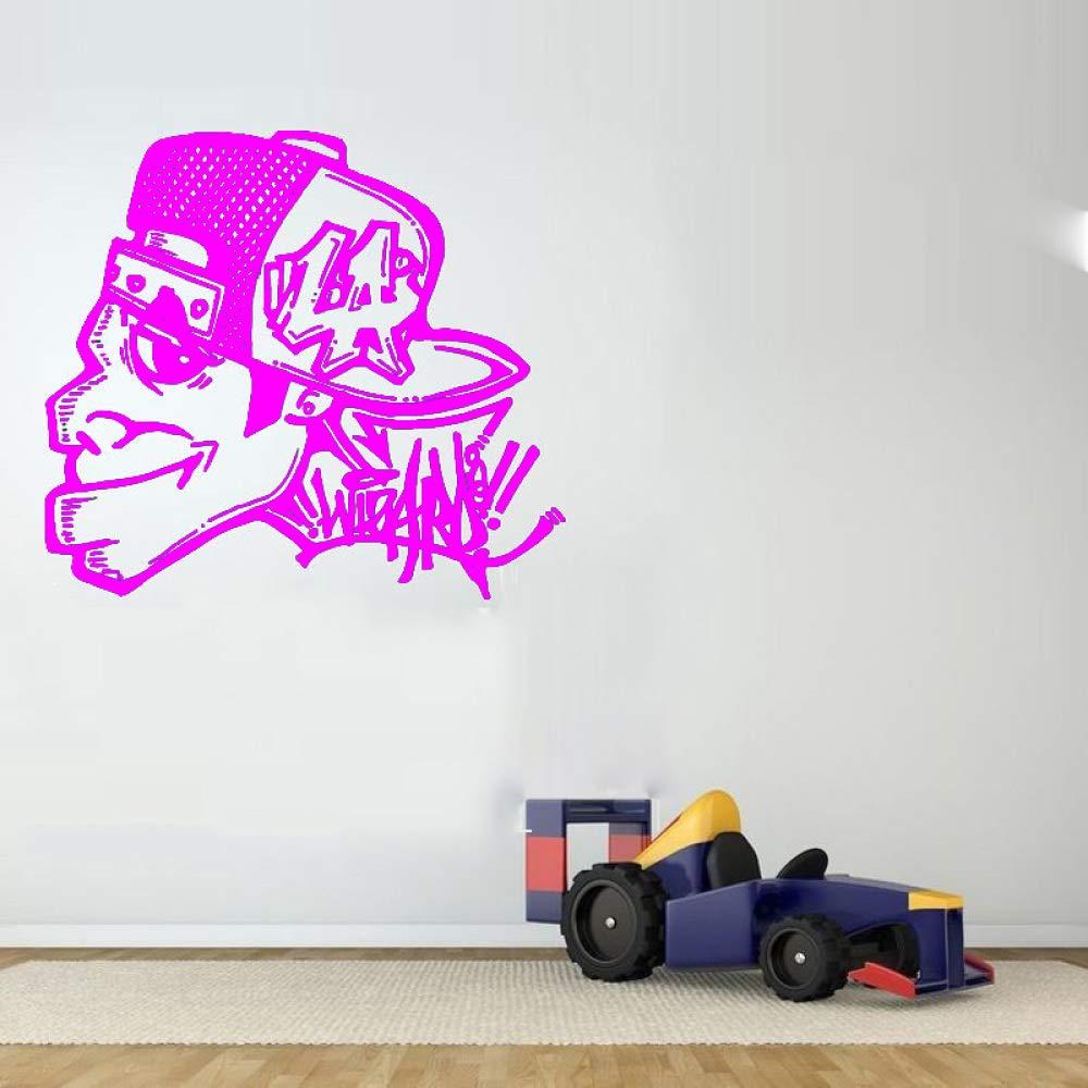 zqyjhkou Graffiti Guy Head Head Nombre Personalizado Etiqueta de ...