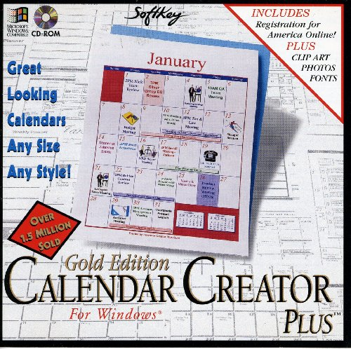 Calendar Creator Plus (Gold Edition) (Calendar Program)