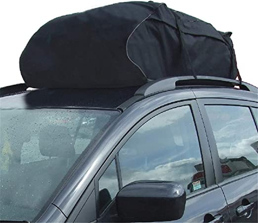 Waterproof Cargo Roof Top Carrier Bag Luggage Rack Storage Car Rooftop Travel