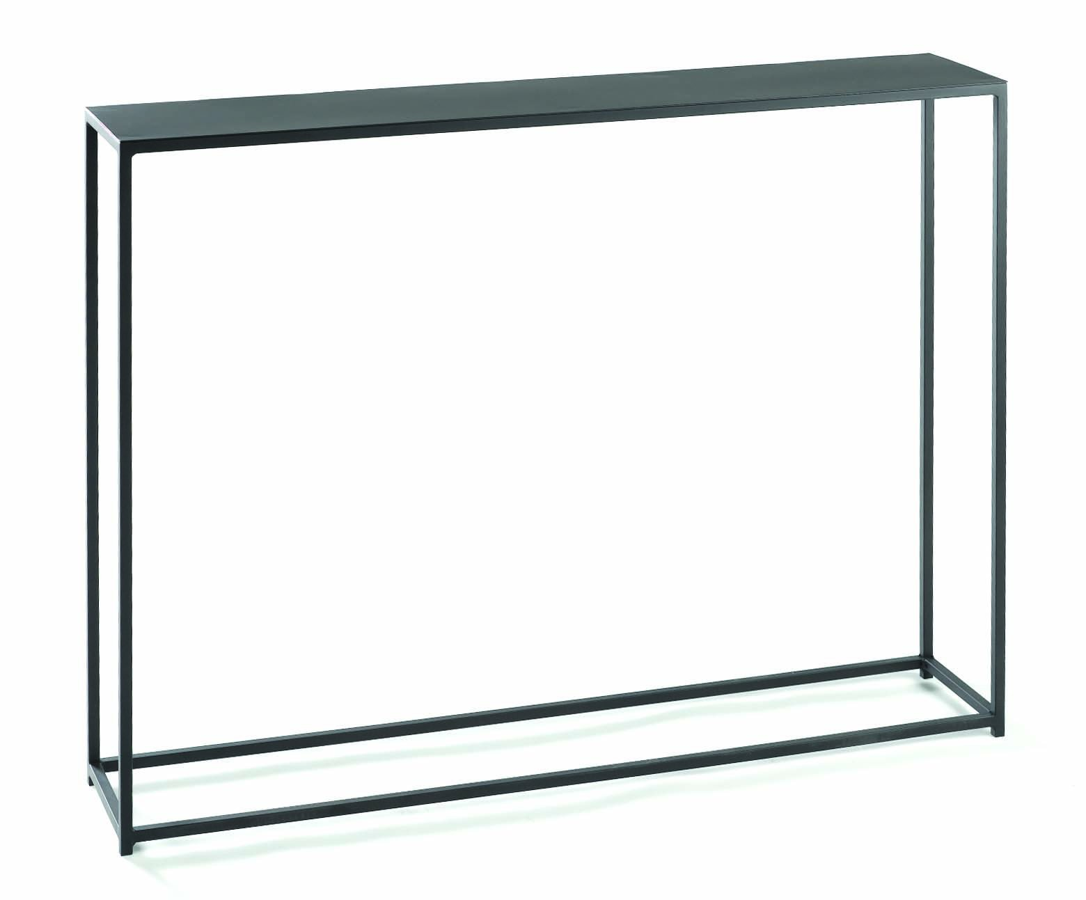 tag - Urban Console Table, A Perfect Addition to Any Home, Mild Steel Top with Coco Finish (40x8x29.5) by tag