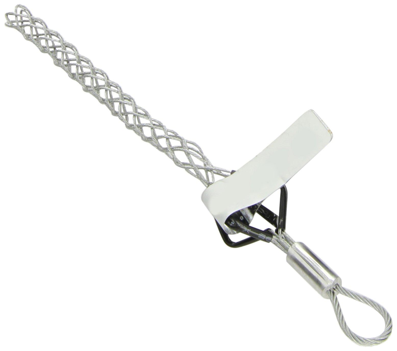Woodhead 35970 Pulling Grip, Junior Duty, Flexible Eye, 1700lb Approximate Break Strength, 5.00'' Mesh Length, .25–.36'' Cable Diameter