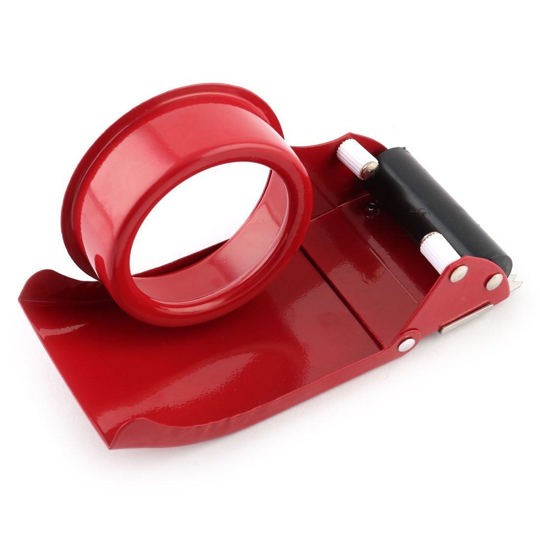 Amazon.com : eDealMax Ministerio del Interior del Metal de envase sellado Cinta adhesiva Cortador Rollo dispensador : Office Products