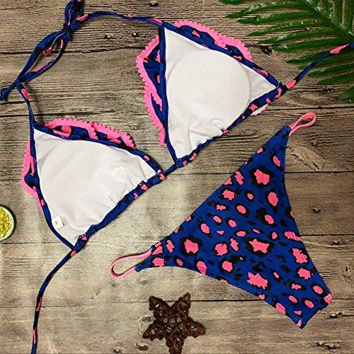 rosado Juleya Costume Push Azul Set imbottito Da Swimwear Bagno Bikini Monokini up Bikini Spiaggia Sexy Donna Set reggiseno B4BTq