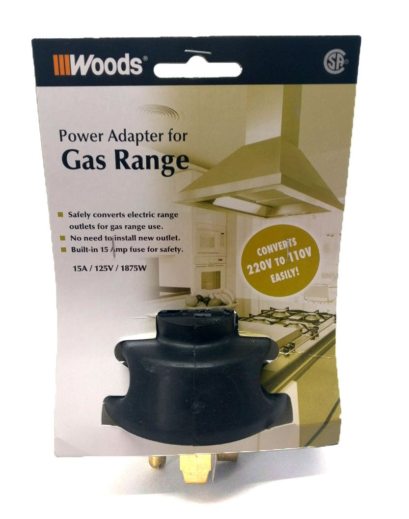 Woods Power Adapter for Gas Range
