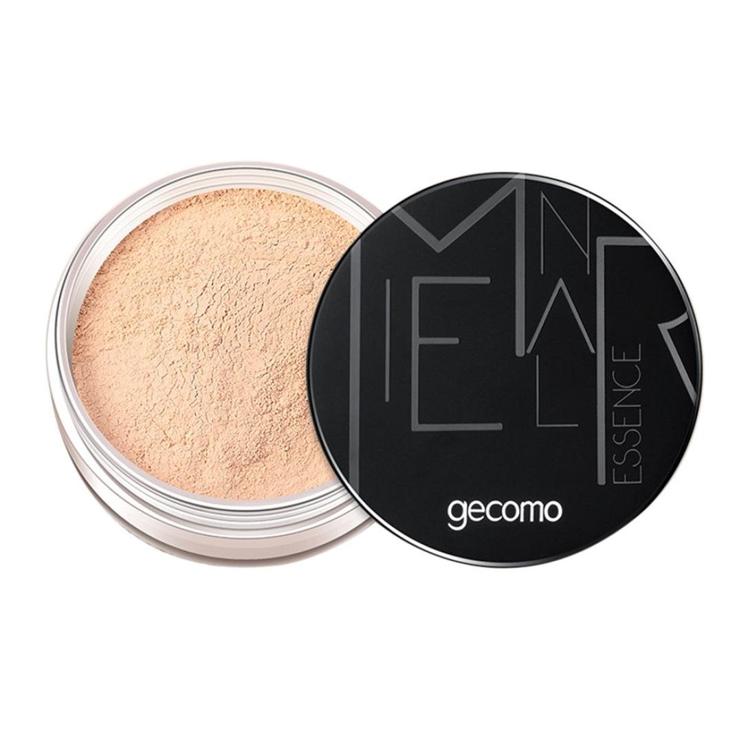 Esharing New Portable Oil Control Ding Makeup Powder Anti Sweat Does Not Take Off Makeup Loose Powder For Women Girls (Style C)