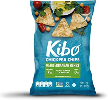 12-Pack Kibo Gluten Free and Plant-Based Chickpea Chips
