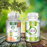 Garcinia Cambogia & Colon Cleanse BUNDLE PACK Garcinia100 95% HCA Garcinia Cambogia & All Natural Colon Cleanse Detox Pills 60 Total Capsules