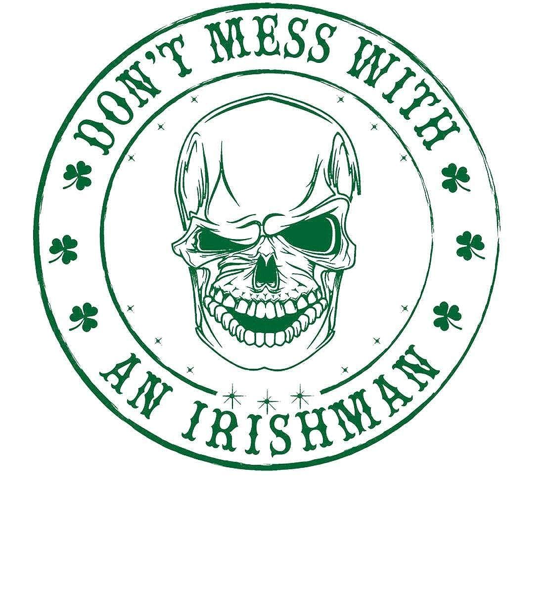 Dont Mess with a Irishman Made in USA T-Shirt. Irish T-Shirt