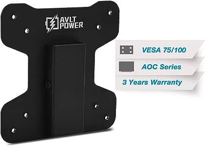 AVLT Monitor Mount Bracket Adapter Kit for VESA Adapter AOC 57, 67 Series - i2067f, i2367F, i2367Fm, i2367Fh, i2757Fh, i2757Fm, i2267Fw, i2267Fwh