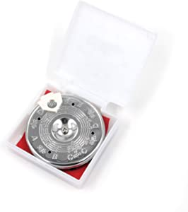 FarBoat C-C Pitch Pipe Tuning Devices Tuner 13 Note with Storage Case (Chromed)