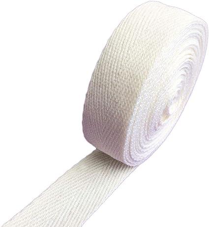 25mm Natural cotton webbing