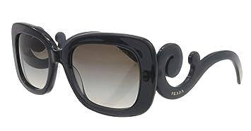 76be2617983f ebay prada baroque square sunglasses in clear purple pr 27os kam0a7 54 54  grey gradient 305cb