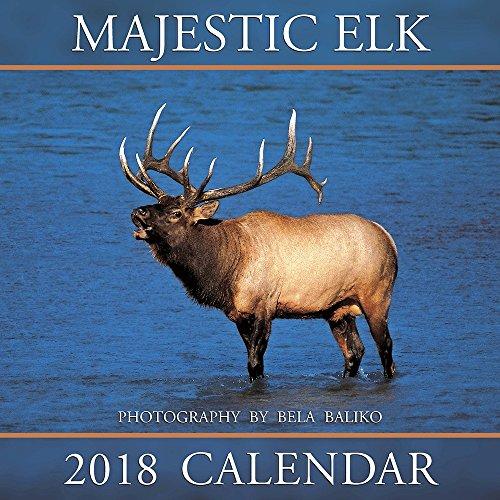 2018 Baliko Majestic Elk Wall Calendar