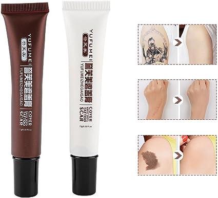 Corrector de tatuajes maquillaje,corrector de cicatrices a prueba ...