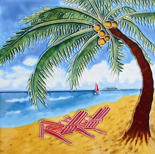 Palm Trees Tile - 1