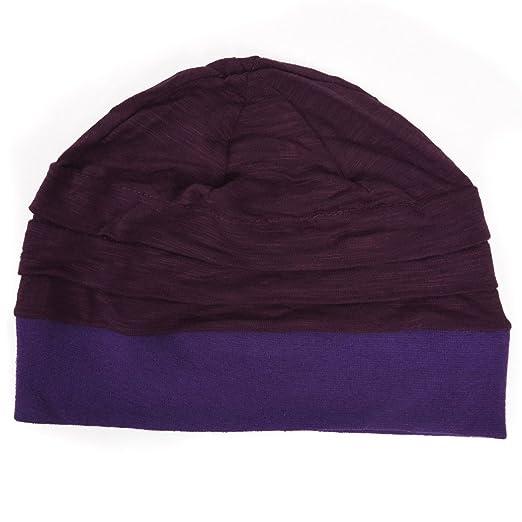 86ff0d6f5c3 Casualbox Charm Boys Girls Kids Beanie Hat Summer Cooling Light Weight  Purple