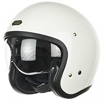 Shoei Casco J.O. Off Blanco para Motos Tamano M