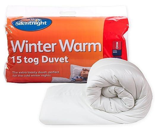 117 opinioni per Silentnight- Piumone Notti d'Inverno 15 TOG- PARENT, Policotone, bianco, King