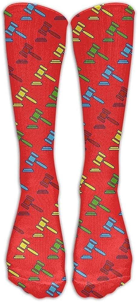 xinfub Crawfish Chef Casual Calcetines unisex Calcetines largos hasta la rodilla Calcetines deportivos deportivos Un tama/ño c/ómodo11021
