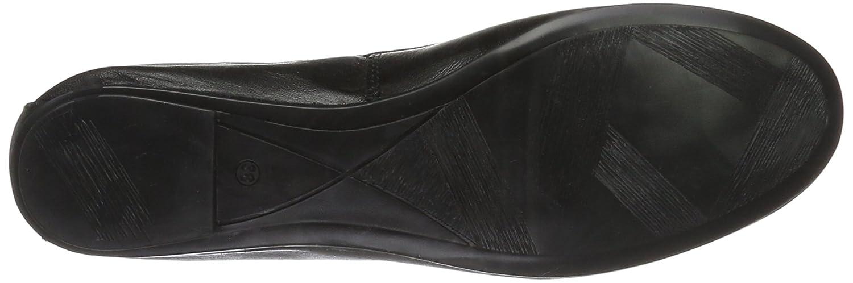 Tamaris Damen 22165 (schwarz Geschlossene Ballerinas Schwarz (schwarz 22165 Leder 003) 984165