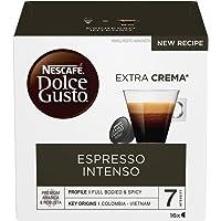 NESCAFÉ Dolce Gusto Espresso Intenso, Caffè Espresso, 6 Confezioni da 16 Capsule (96 Capsule)