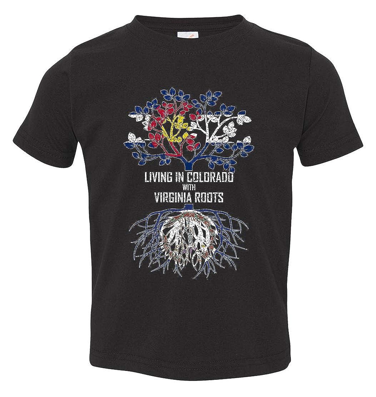 Tenacitee Babys Living in Colorado Virginia Roots Shirt