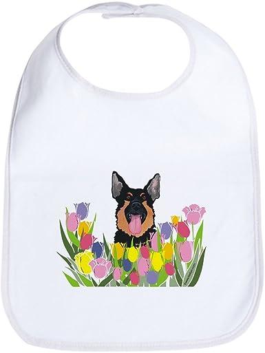 I Love My German Shepherd Bib Cute Cloth Baby Bib CafePress Toddler Bib