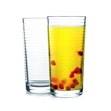 Cello Reno Glass Tumbler Set, 260 ml, Set of 2, Transparent Glassware & Drinkware at amazon