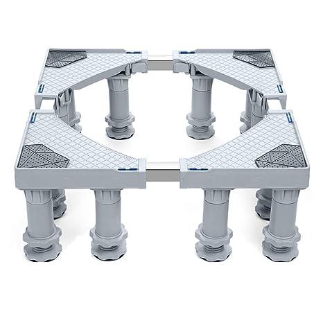 FLy Base de la Lavadora Rodillo pulsador Estante Universal Soporte de Rueda Universal Almohadilla Estante móvil