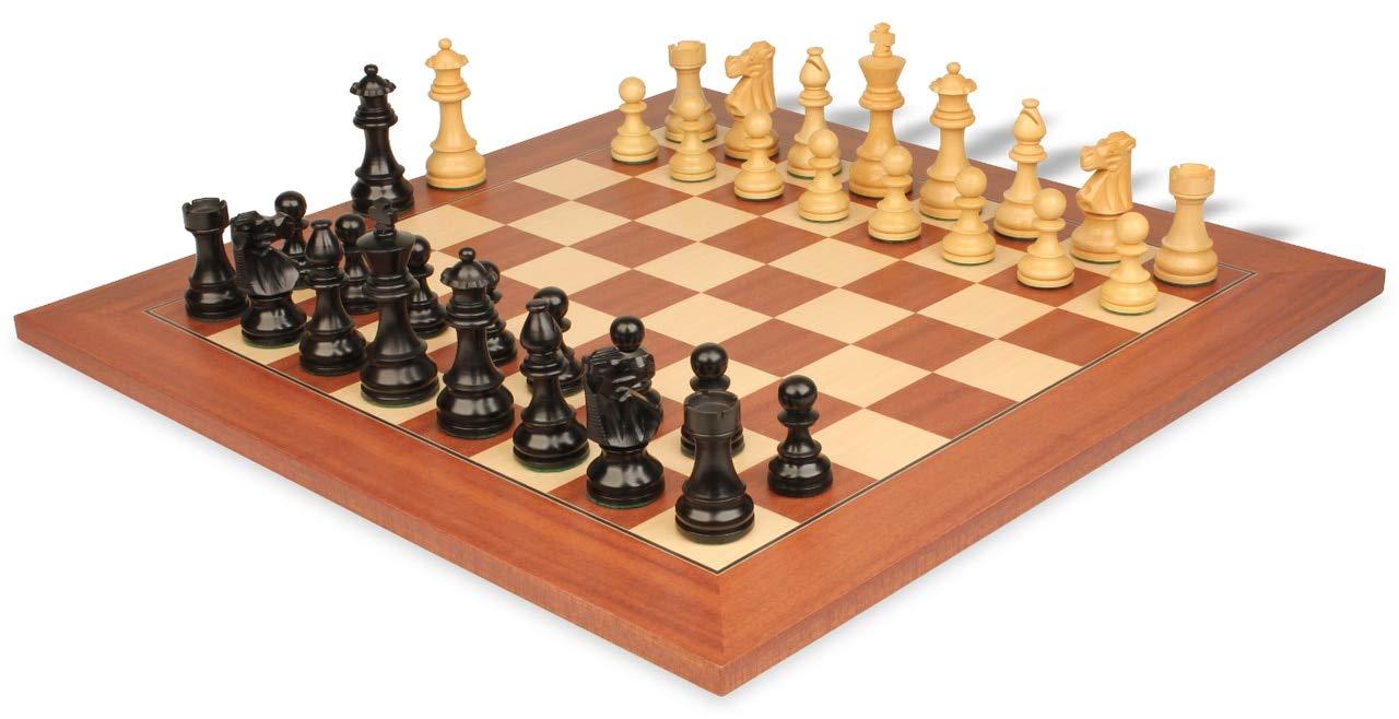 激安通販新作 French Lardy Staunton チェスボード チェスセット 黒檀 & ボックスウッド Lardy マホガニー & 2.75インチ メイプル デラックス チェスボード - 2.75インチ キング B07CKLXK8S, バトウマチ:f323813a --- nicolasalvioli.com