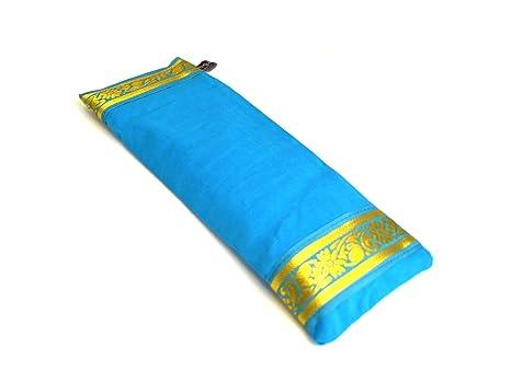 Yoga United almohadilla para los ojos Azul azul celeste
