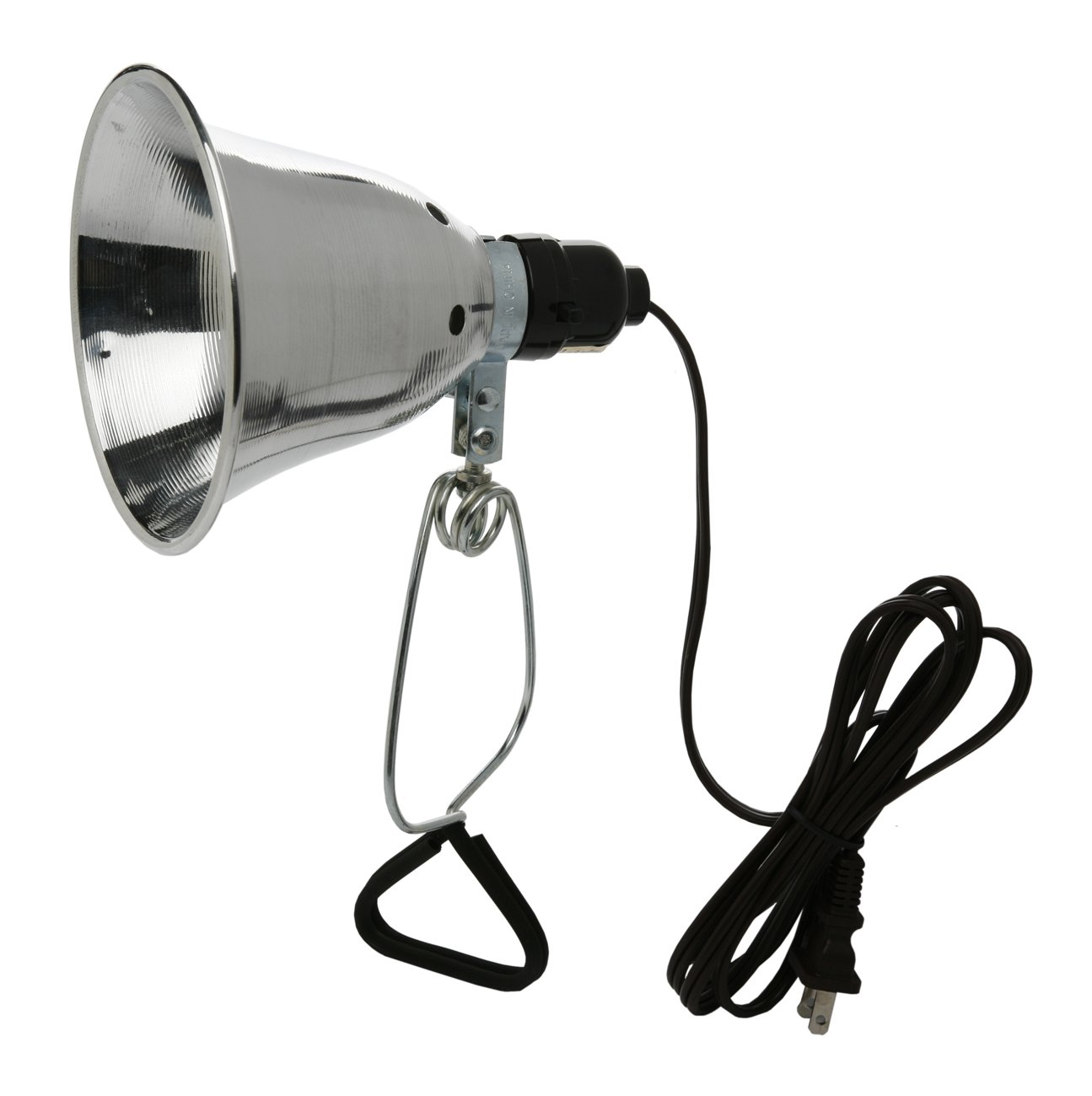 Woods Clamp Lamp With 5.5 Inch Reflector And 6 Feet Cord (60 Watts ...