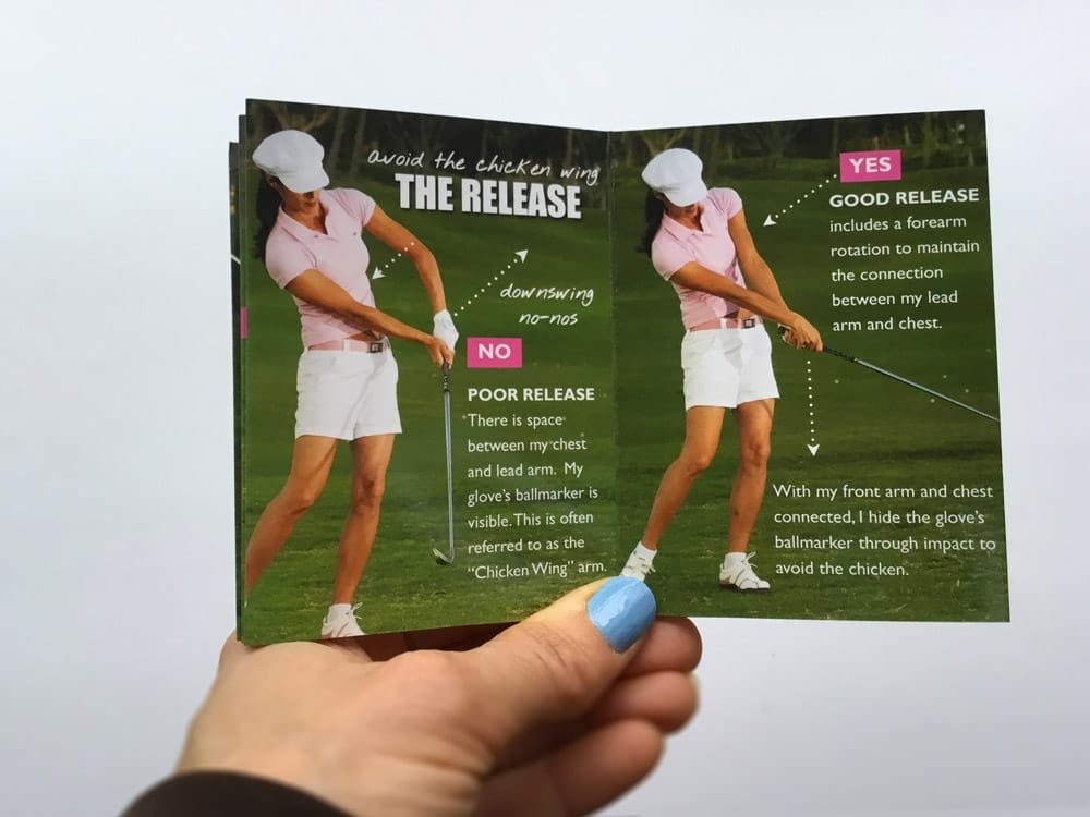 Amazon com : Golf Pocket Guides » More Distance Tee & Get Solid