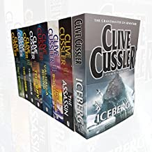 Clive Cussler Collection 8 Books Set (Iceberg, The Assassin, The Bootlegger, Valhalla Rising, The Spy, The Jungle, The Tombs, Lost Empire)