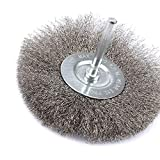 8Pcs Stainless Steel Wire Brushes Wheel kit for