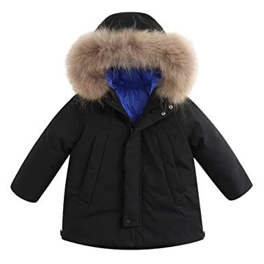 bde1028a9 Amazon.com  marc janie Boys  Lightweight Packable Hooded Down Puffer ...