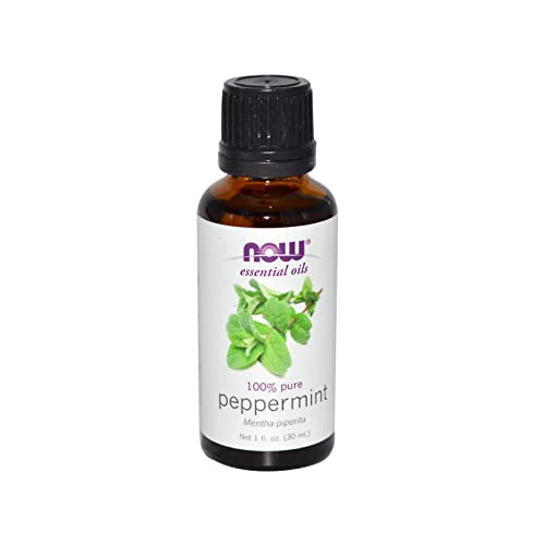 Now Essential Oils, Peppermint Oil, Invigorating Aromatherapy Scent, Steam Distilled