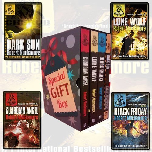 Robert Muchamore Cherub Series Collection 4 Books Bundle Gift Wrapped Box Set Specially For You