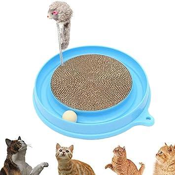 Juguetes para gatos Los colores de los juguetes para atrapar gatos pueden variar de los juguetes