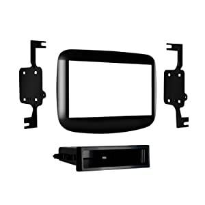 Metra 99-6517HG ISO DIN Radio Provision with Pocket for 2013-Up Dodge Dart Base Model