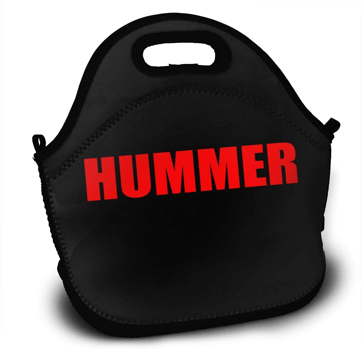 Hummer Logo Lunch Bag Lunch Box Thermal Insulated Lunch Pouch Picnic Bag for School Cross Body Backpack