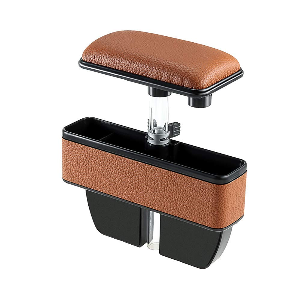 WYYINLI Car Elbow Support Pad Side Pocket Organizer Car Seat Filler Gap Space Storage Box with Car Central Adjustable Elbow for Driving Hand Fatigue Pain Relief Armrest Rest Pads