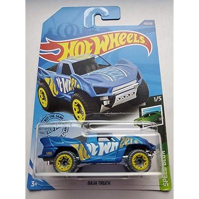 Hot Wheels 2020 Speed Blur Baja Truck, Blue 110/250: Toys & Games
