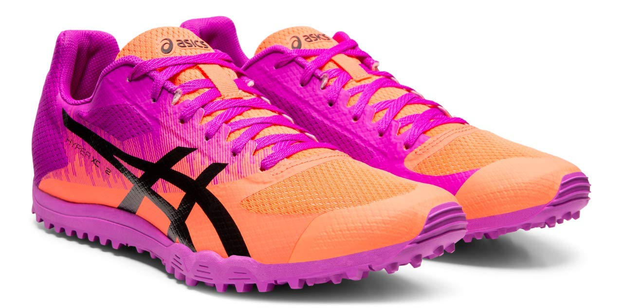 ASICS Hyper XC 2 Track & Field Shoes, Orchid/Black, 9.5 M US by ASICS