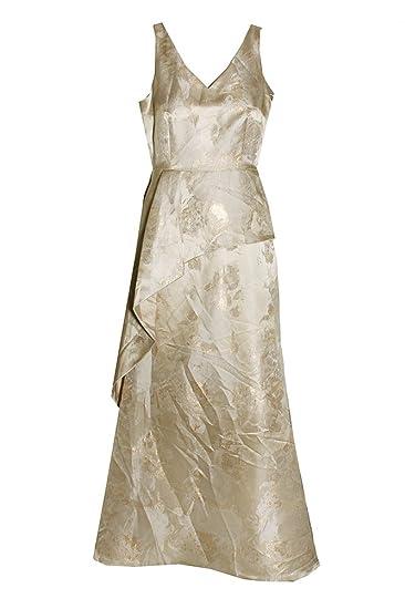 687765fa2f40 Tahari $269 Womens New 1501 Gold Floral A-Line Formal Dress 6 B+B at ...