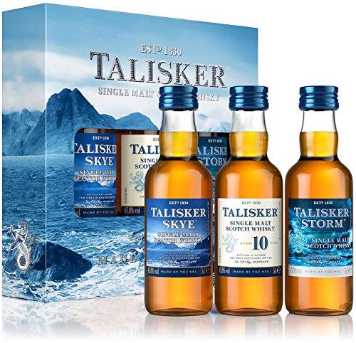 Talisker Probierset Single Malt Scotch Whisky (3 x 0.05 l)